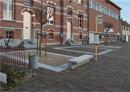 Tervuren - Heraanleg Dorpsplein Vossem