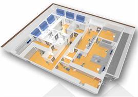 Ziekenhuis Oost-Limburg  - Blok N – Cleanrooms - Apotheek