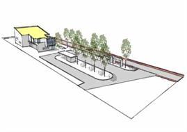 Tielt - Winge : Busstelplaats De Lijn